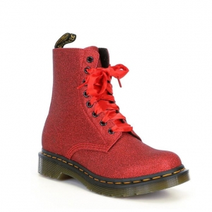 1460 PASCAL GLITTER RED