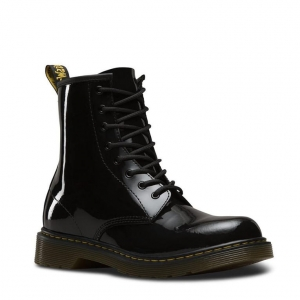DELANEY Y BLACK PATENT LAMPER