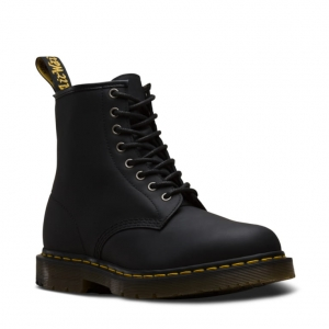 1460 BLACK GREASY SNOWPLOW BOOT